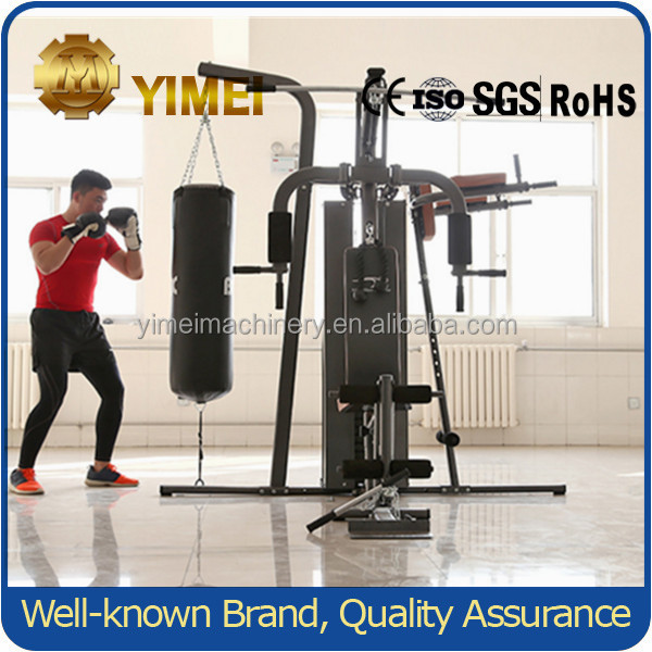 Training Comprehensive Fitness Equipment Deluxe Home Gym