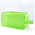 Green swimwear bag swimming waterproof transparent package beach candy color waterproof bag