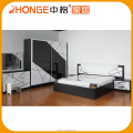 Low Prices Double Color Wardrobe Design Furniture Bedroom Set