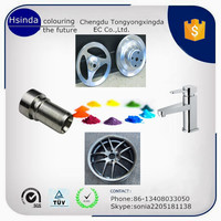 chrome mirror effect paint and powder/electrostatic spray powder coating paint