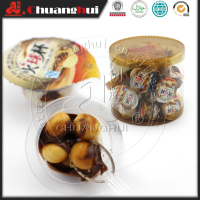 Good Quality 5g Chocolate Cup With Biscuits Ball / 100pcs Fireball Choco Cup in Jar