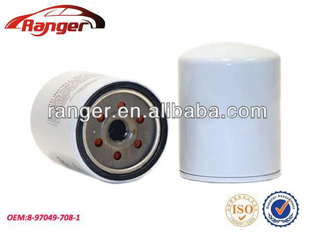 8970497081 oil filter supplier cheap ISUZU oil filter