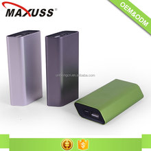 Cheap price ABS cover material ultra slim usb 18650 4000 mah power bank