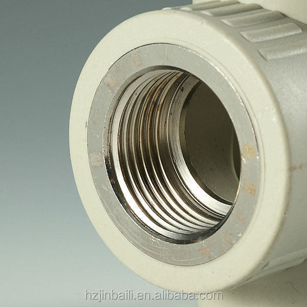 Plastic China Supplier Bathroom Fitting PPR Pipe Fitting