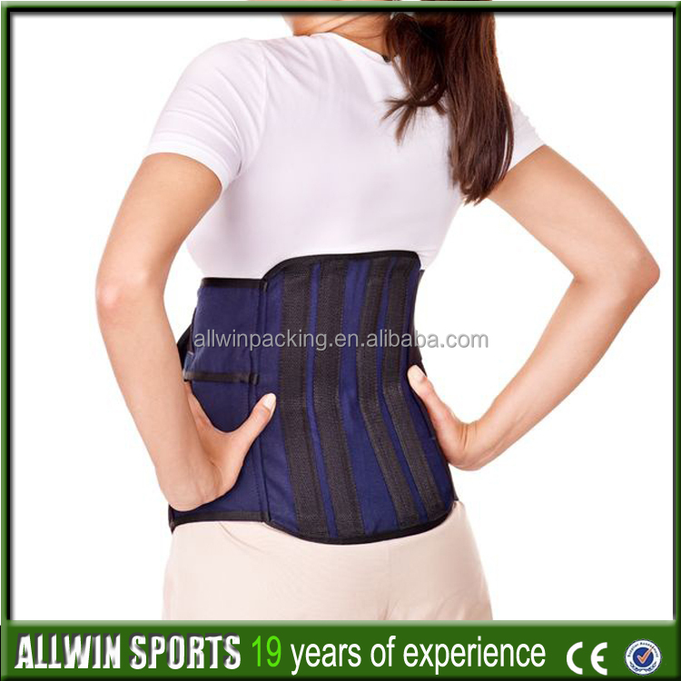 AWCP09 best slimming equipment hot slim belt body wraps waist support brace / trimmer