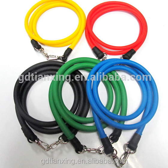 Realistic latex Durable Custom Fashion Mini Resistance tube