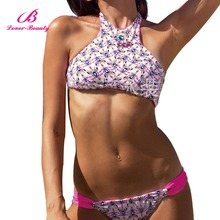 Fashionable Latest Sexy Girls Pink Extreme Bikinis for Sale