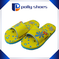 soft pu material childrens bedroom slippers