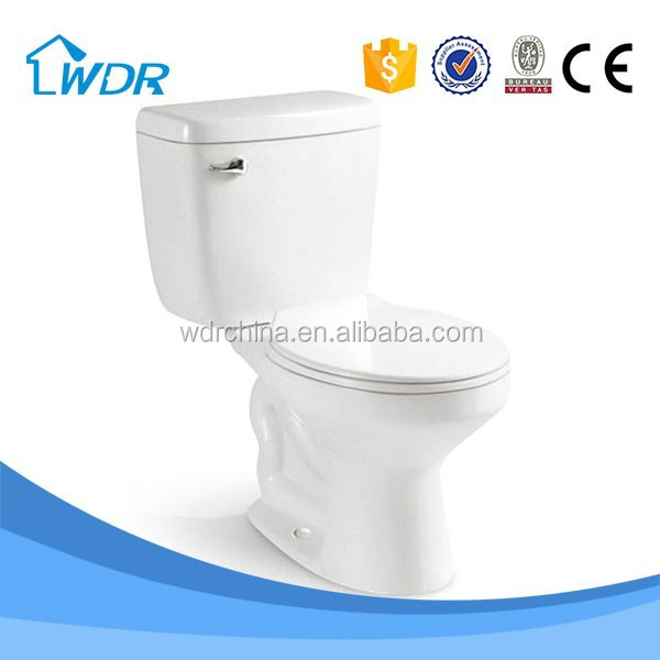 Promotional sales 2 Piece Bathroom indian type water closet