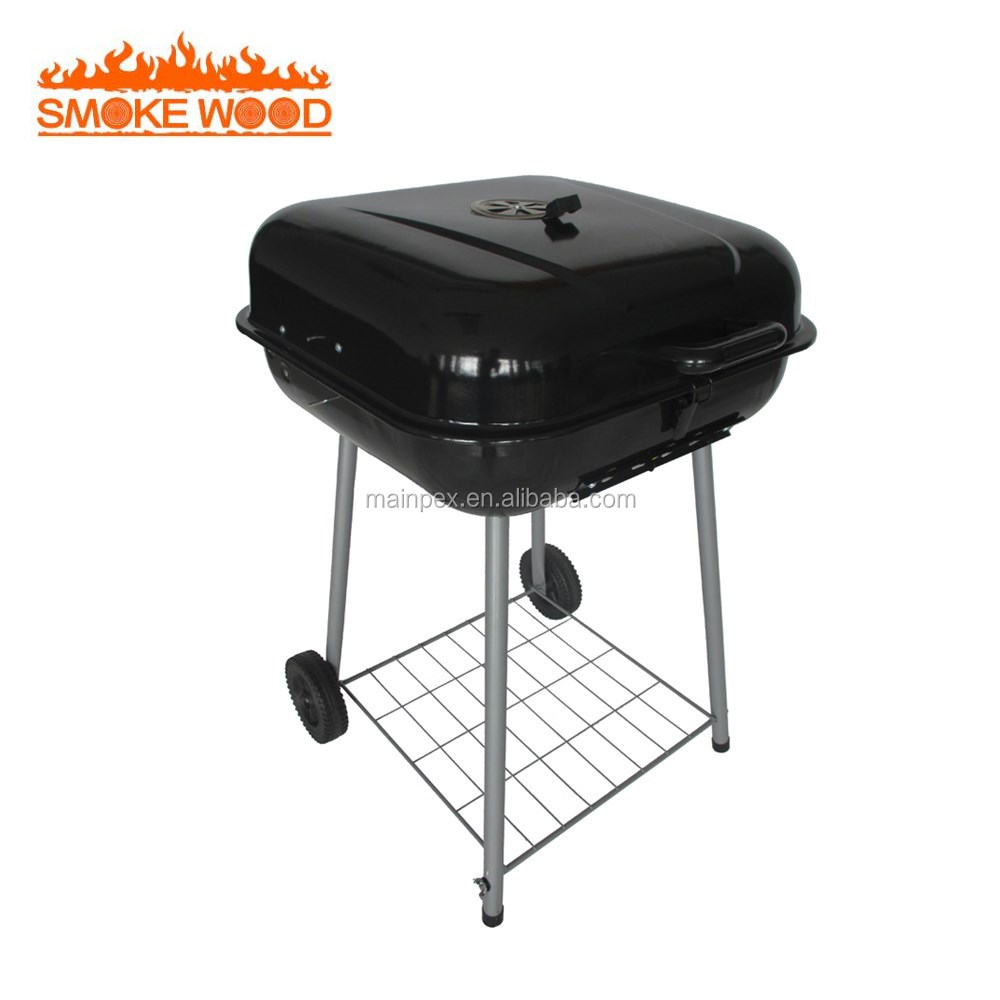 Light Duty,Wheel,Indoor Large Portable Charcoal BBQ Grill