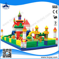 2015 Hot sale kids game inflatable bouncer castle inflatable appliance playground manufacturer