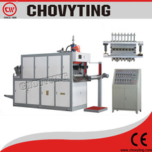 plastic extrusion and thermoforming machine for cup & plate