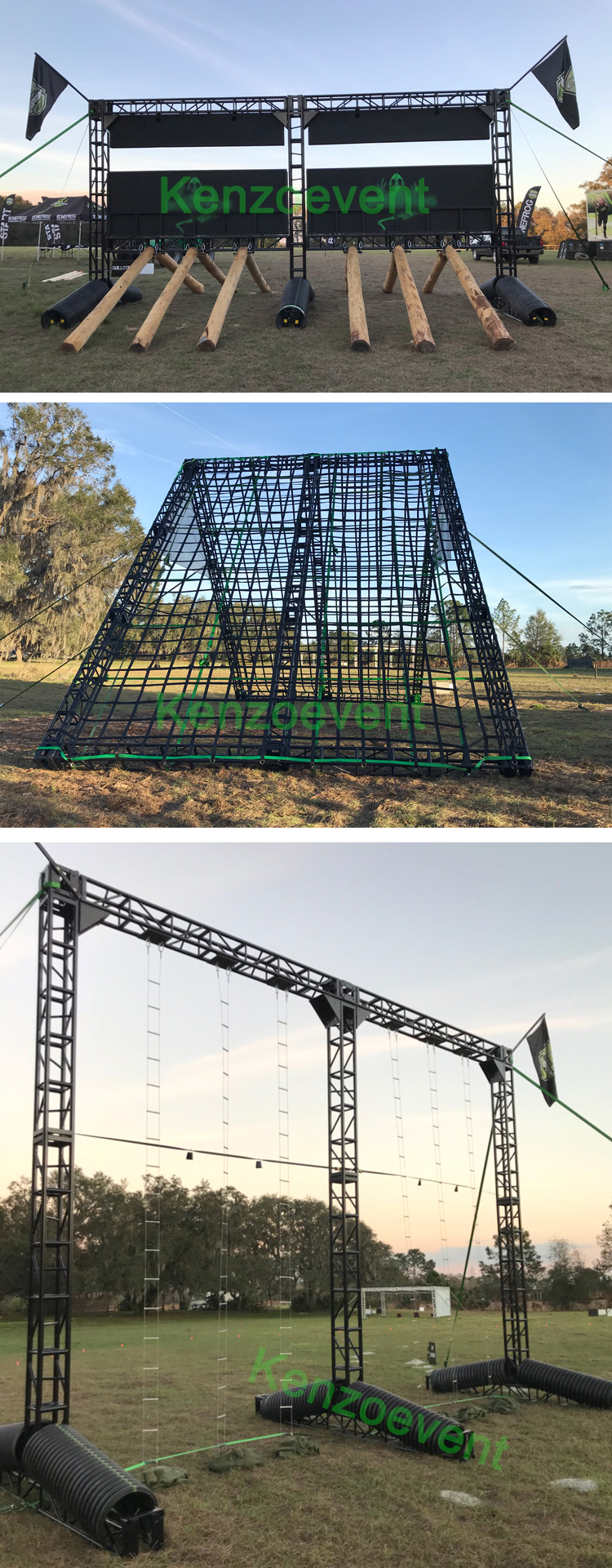 Adult Obstacle Course Ninja Warrior Aluminum Truss