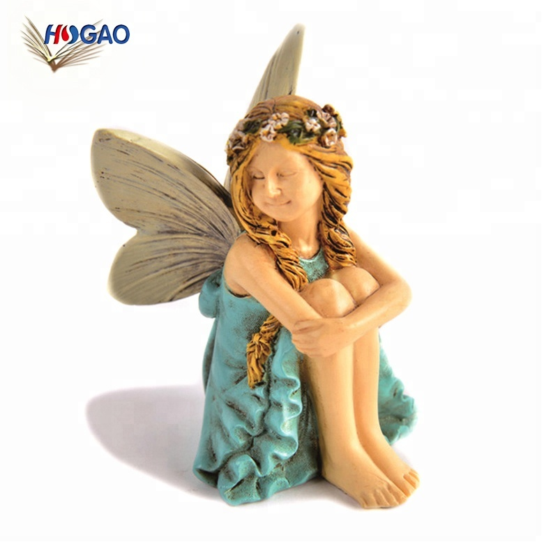 China supplier OEM miniature garden dollhouse accessories cheap small fairy figurines wholesale for outdoor or house decor
