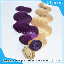 Top quality 100% human hair silky hair different colors high density 8-30inch virgin brazilian hair straight