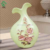Chinese Character Floor Decorative Large Floor Anqitue Ceramic Flower Vase
