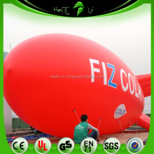 Custom Pvc Commercial Inflatable Helium Zeppelin/ Remote Control Inflatable Advertising Blimp