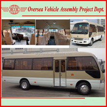 the newest classic type gasoline/diesel LHD coaster mini bus (sale & assembly)
