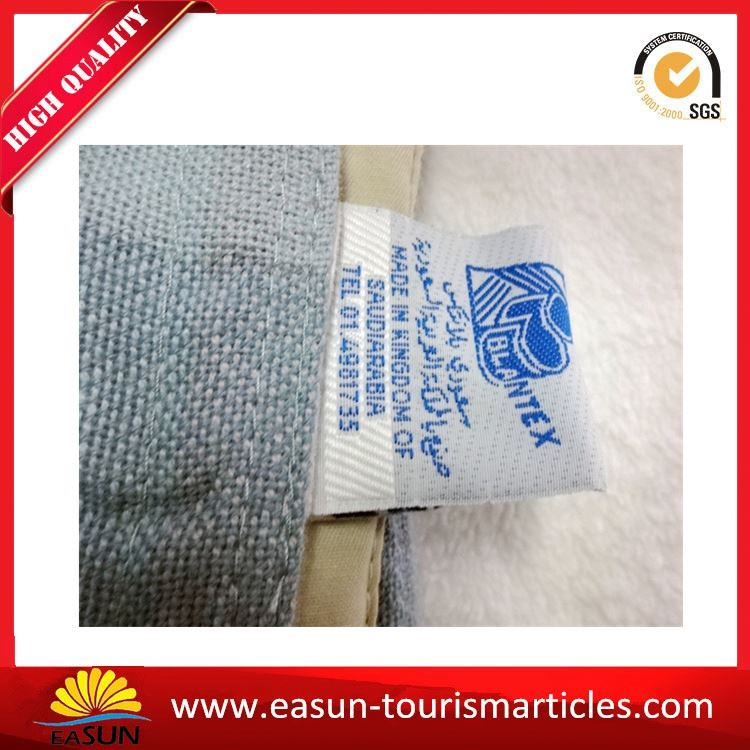 cheap good quality travel blankets custom fleece blanket jacquard blanket
