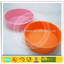 heat resistant colorful silicone mask cake mold