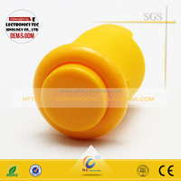 Yellow color push button switch for sale