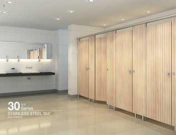 Aogao 30 series compact HPL stainless steel toilet partitions