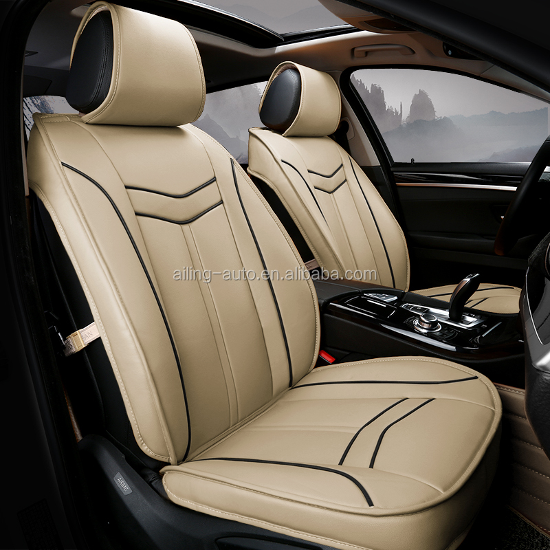 Main product high quality beige color car seat cover