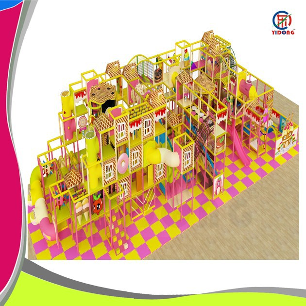 new design high quality plastic backyard playground component for amusement