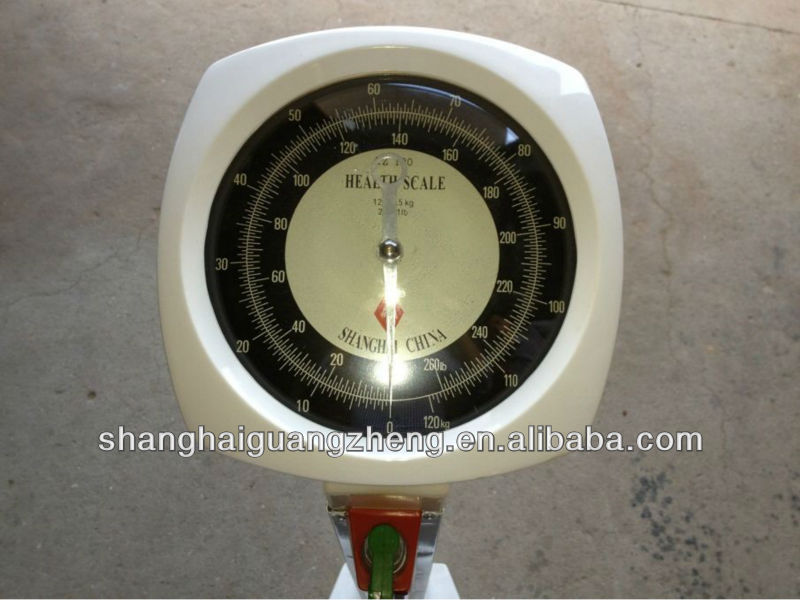 mechanical human scale /health scale model TZ-120, Real Factory