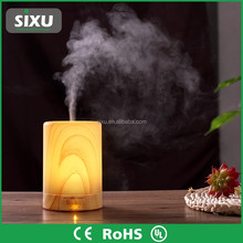 round cylinder led desk lamp water aroma mist humidifier
