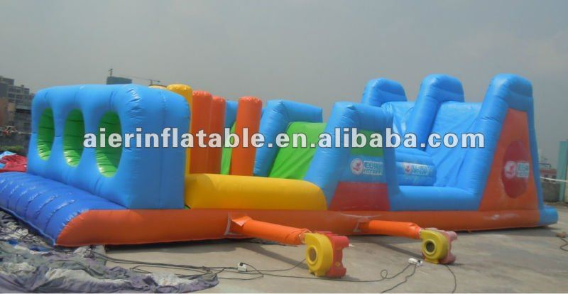 Chinese great inflatable obstacle course/inflatable sports games