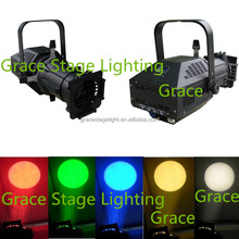 150W RGB Tricolor led profile spot light, led ellipsoidal light