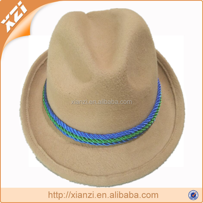 Image for both men and women cowboy hats fedora hats polyester Material