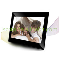 Hot! ultra-thin type plastic material multifunction 10.1'' inch gif digital picture frame