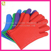 Wholesale colorful cheap kitchen accessories silicone oven mitts for raja foods