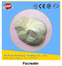 Purity 99.9% secure active pharmacetical ingredient pancreatin powder for digestant