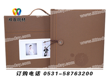 China professional high quality digital wedding album cover photobook cover