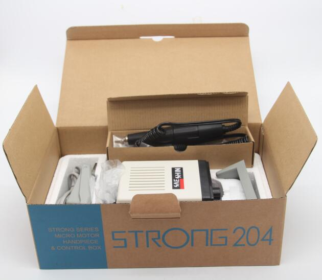 Korea dental electric micromotor strong 204+102 handpiece for lab