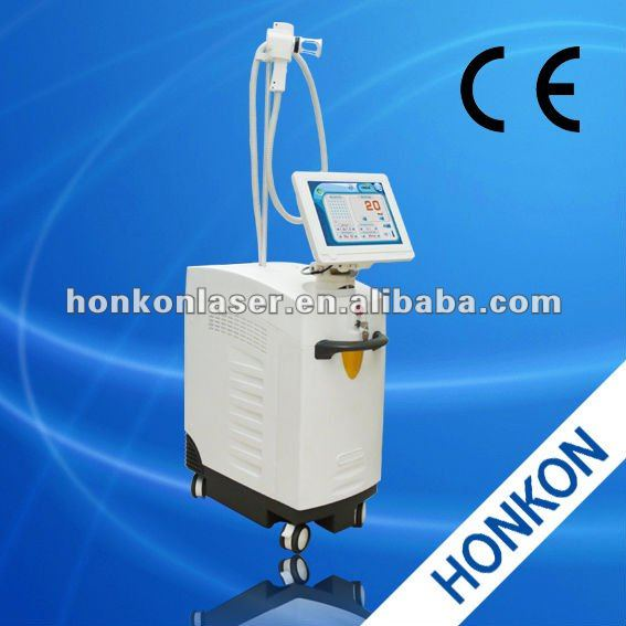 Er:bium Glass Fractional Fiber laser 1550nm remove Crow's feet Wrinkles Remover