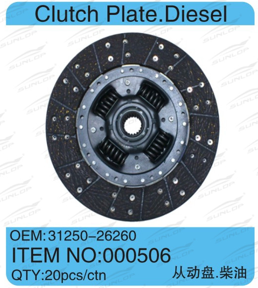 Whole network lowest price Cluth Plate Diesel #000506