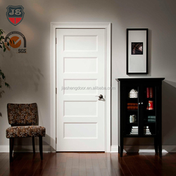 apartment/house/hotel white oak solid wood contemporary interior doors
