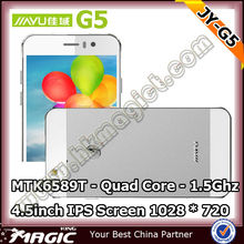 Original 4.5inch Touch screen android mobile phone jiayu g5