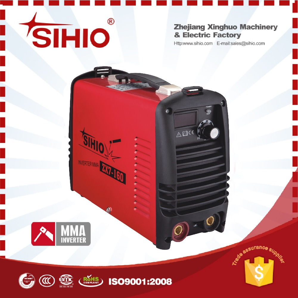 SIHIO RED BLACK TUV cooling fan MMA welding machine
