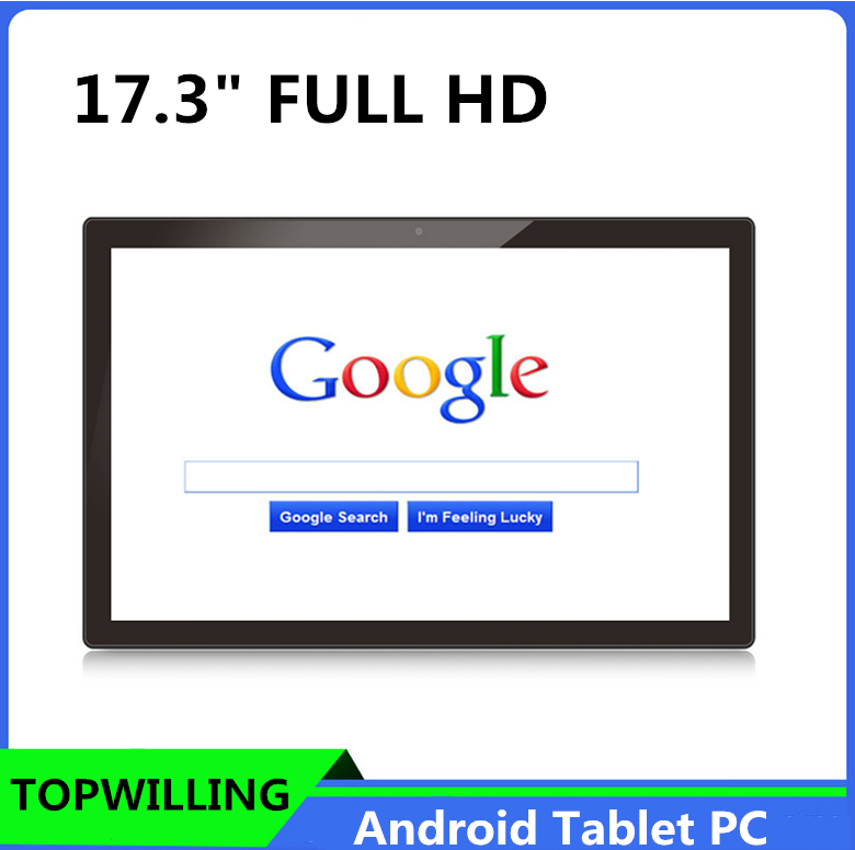 Wall Mount OEM Android Tablet 17.3 inch FULL HD IPS PC