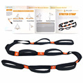 Gym Fitness Elastic Cotton Pilates Yoga Stretch Band Yoga Strap