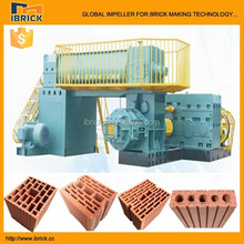2015 new product full auto brick making machine for manufacturing process of clay bricks and mud fired brick plant