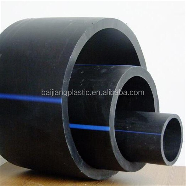 High Pressure 4 Inch Flexible HDPE Water Supply Hose Pipe