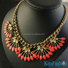 Fashion Big Pendant Bright Rhinestone Hot Selling in America Best Price Party private label fashion jewelry