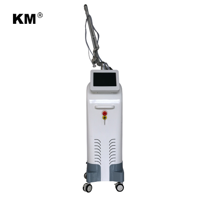 50W RF metal 10600nm 3 in 1 Stretch Mark Scar Removal Machine Tight Vagina Fractional CO2 Laser