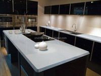 Chinese cheap polished bullnose white countertops